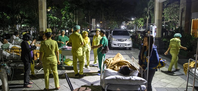 142-re nőtt az indonéziai földrengésben meghaltak száma