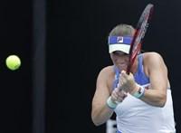 Australian Open: Babos Tímea az első fordulóban búcsúzott