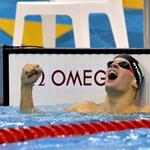 Gyurta olimpiai bajnok világcsúccsal
