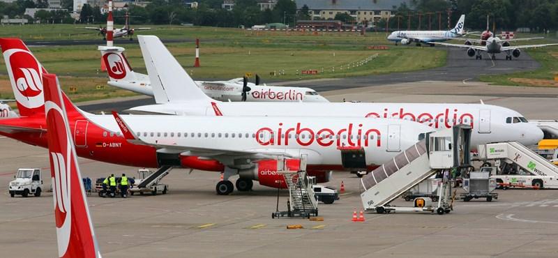 Fizetésképtelen lett az Air Berlin, de egyelőre tovább működik