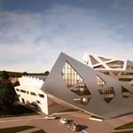 Meghökkentő képek: futurisztikus épületben tanulhatnak a diákok