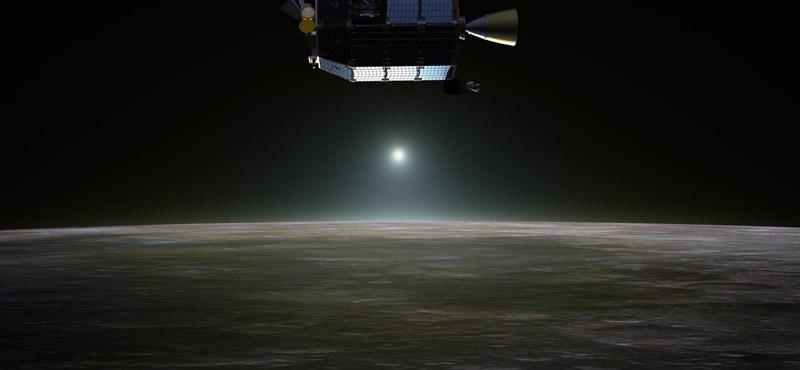 Be fog csapódni a Holdba egy kis űrhajó