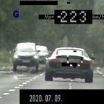 Ritka forgalom mellett csináltak rekordszámú gyorshajtást a magyar autósok