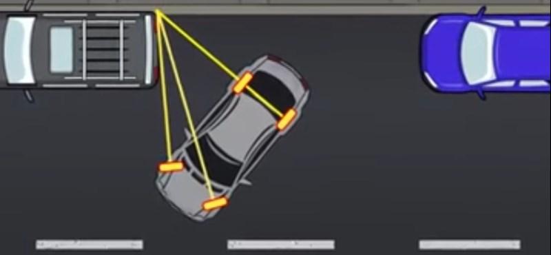 Itt egy 50 másodperces videó, amiből bárki megtanulhatja, hogyan kell parkolni