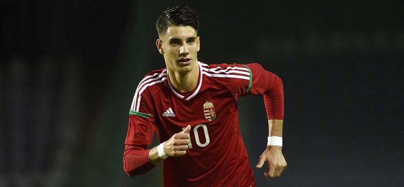 A magyar foci egyik legnagyobb tehetségét is behívták a válogatottba