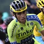 Sípcsonttörést szenvedett Alberto Contador