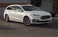 Megújult a Ford Mondeo: lehet, hogy ez lesz az utolsó?