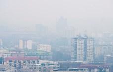 A rossz levegő miatt ingyenessé tették a tömegközlekedést Szkopjéban