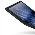 Íme az első újfajta laptop: a Lenovo gépének képernyője papírként összehajtható