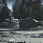 Még egy orosz tank ellen is pariban van a lánctalpas Duster – videó