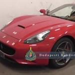 Nagy fogás: körözött spanyol Ferrarira bukkantak egy budai teremgarázsban - videó