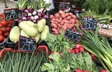 Jól megdrágult a friss zöldség, a gyümölcs, de a párizsi is