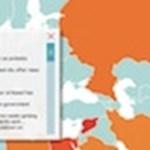 Egy különleges térkép: itt forrong a világ!