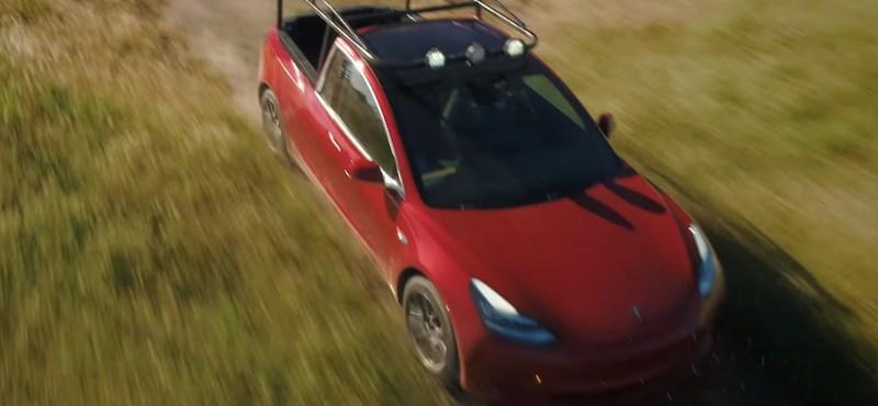 Megépítették az első Tesla pick-upot