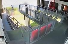 Bemutatták a videót arról, ahogyan az olasz kabinos felvonó kábele elszakad