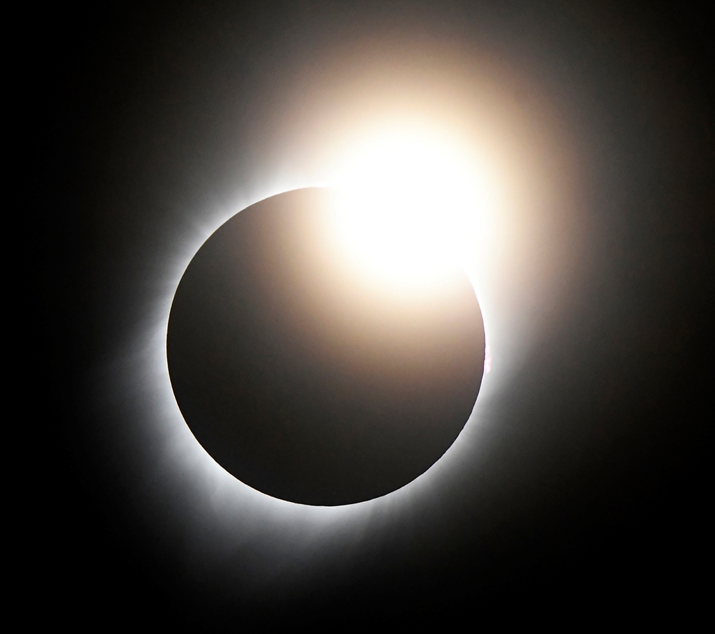 afp.17.08.21. - Napfogyatkozás az egyesült államokban -
