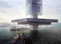 Merész ötlet, de működhet a torony, amely takarít és áramot is termel