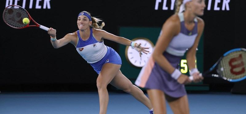 77 millió forintot kap Babos az Australian Open-győzelemért