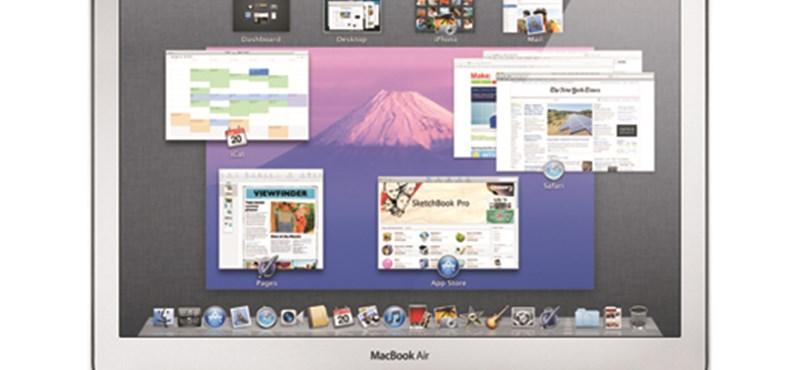 iLife frissítés, Lionos szoftverek és új MacBook Air világító billentyűzettel