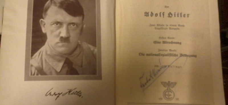 A Mein Kampf ismét ott lesz a francia könyvesboltokban