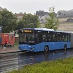 A BKV-nál parkolnak a csődbe ment magyar buszgyártó félkész buszai