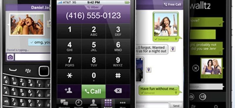 Jobb hangminőség és csoportos üzenés az ingyen telefonálós Viberben