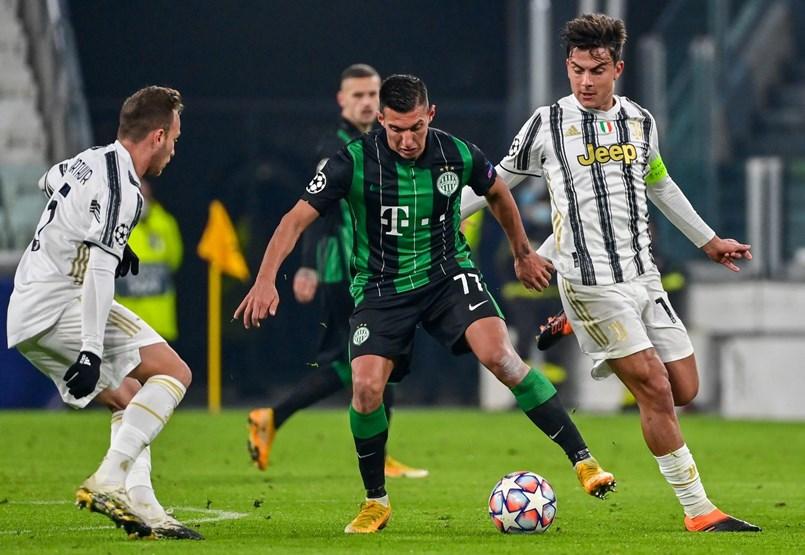 Juventus–Ferencváros 2-1