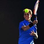 Öt meccslabdát hárítva nyert Piros Zsombor az Ausztrál Nyílt Teniszbajnokság selejtezőkörében