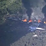 Lezuhant egy katonai gép a Mississippi deltájában, sokan meghaltak