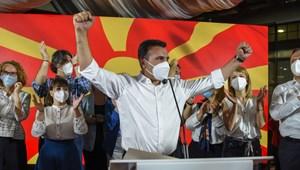 Az albán pártoknak udvarol az észak-makedón bal- és jobboldal