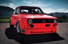 Eladó az első Volkswagen Golf versenyautó