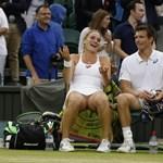 Wimbledon: Babosék csak a döntőben adták meg magukat