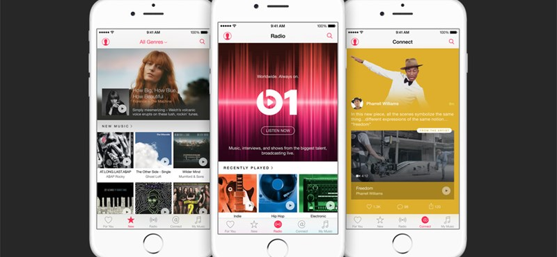 Mi lesz így veled, Spotify? Kilőtt az Apple Music