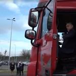 Ilyen lenne Orbán Viktor kamionsofőrnek – videó