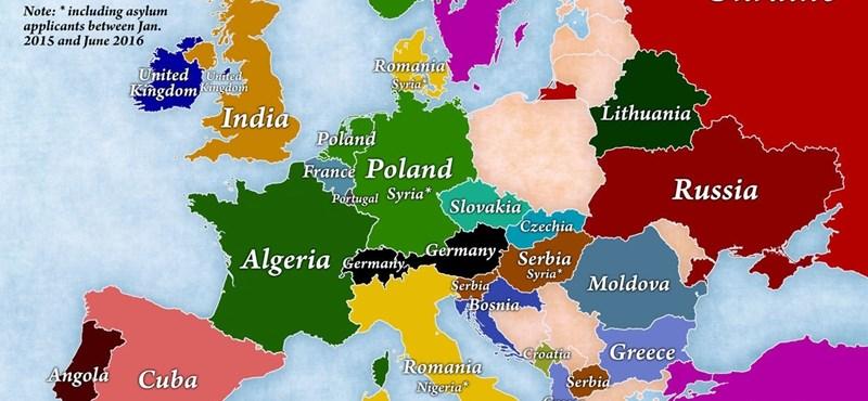 4 térkép, ami önnek is újat mondhat a bevándorlásról