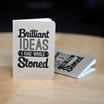 Menő jegyzetfüzet a betépve ötletelők számára