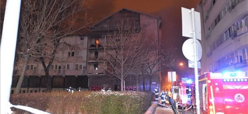 Szándékos gyújtogatás miatt égett ki a Ráday Kollégium
