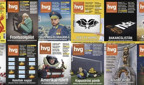 Idézze fel 2020-at a HVG címlapjaival, és szavazzon, melyik sikerült a legjobban
