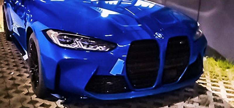 Kémfotókon az álcázás nélküli új BMW M4