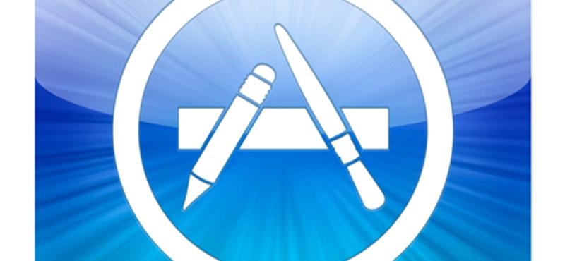 Több mint 1 millió alkalmazást küldtek már be az App Store-ba
