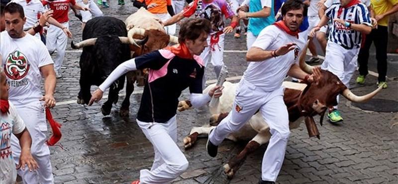 Pamplonai bikafutattás: Idén sem unatkoznak a navarrai kórház sebészetén