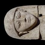 Különleges, még érintetlen szarkofágot találtak Egyiptomban