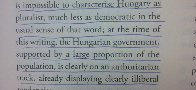 Egy török kiadvány szerint nem demokrácia, ami Magyarországon van