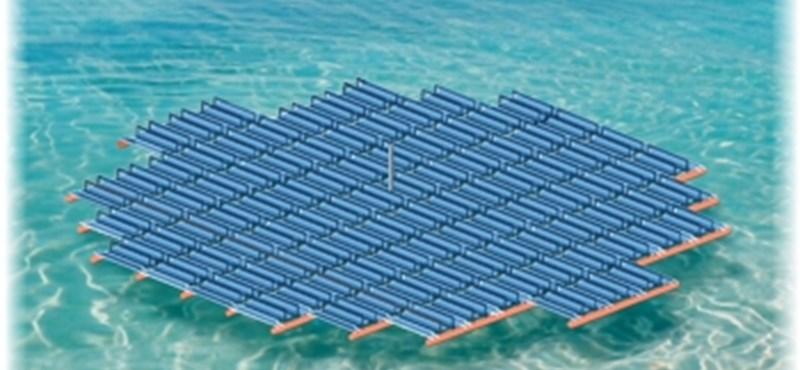 Új generációs napelemek: vízen úsznak, nem kell hűteni őket