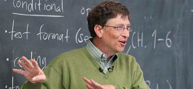 Bill Gates meglepő jóslata az egyetemekről