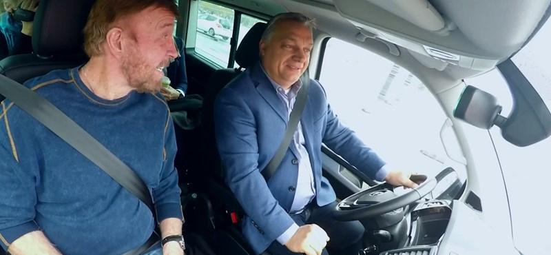 Orbán Viktor és Chuck Norris – ez már bromance?