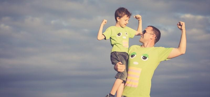 A gyerek olyan akar lenni, mint anyu vagy apu