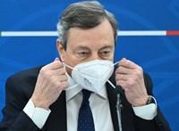 Draghi: Majd akkor nyit újra Olaszország, ha beoltották az időseket