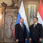 Orbán az Oroszország elleni EU-s szankciók kártékonyságát hangoztatta Putyin oldalán
