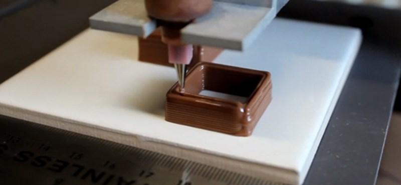 Napi videó – csoki készítése, 3D nyomtatóval